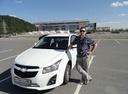 Подержанный Chevrolet Cruze, белый , цена 650 000 руб. в ао. Ханты-Мансийском Автономном округе - Югре, среднее состояние