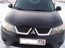 Подержанный Mitsubishi Outlander, черный матовый, цена 670 000 руб. в Челябинской области, хорошее состояние