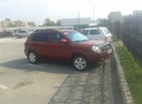 Подержанный Hyundai Tucson, бордовый металлик, цена 400 000 руб. в Челябинской области, хорошее состояние