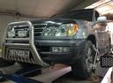 Подержанный Lexus LX, голубой металлик, цена 1 170 000 руб. в ао. Ханты-Мансийском Автономном округе - Югре, отличное состояние