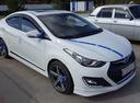 Подержанный Hyundai Avante, белый , цена 680 000 руб. в ао. Ханты-Мансийском Автономном округе - Югре, хорошее состояние