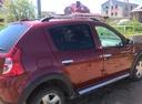 Подержанный Renault Sandero, бордовый , цена 400 000 руб. в Челябинской области, хорошее состояние
