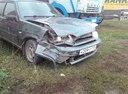 Подержанный ВАЗ (Lada) 2114, зеленый металлик, цена 105 000 руб. в Челябинской области, битый состояние