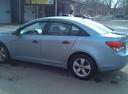 Подержанный Chevrolet Cruze, голубой металлик, цена 400 000 руб. в Челябинской области, хорошее состояние