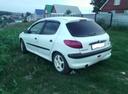 Подержанный Peugeot 206, белый акрил, цена 85 000 руб. в республике Татарстане, среднее состояние