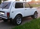 Подержанный ВАЗ (Lada) 4x4, белый , цена 350 000 руб. в Челябинской области, хорошее состояние