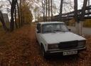 Подержанный ВАЗ (Lada) 2107, белый , цена 33 000 руб. в республике Татарстане, хорошее состояние
