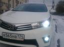 Подержанный Toyota Corolla, белый металлик, цена 860 000 руб. в Челябинской области, отличное состояние