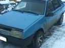 Подержанный ВАЗ (Lada) 2109, голубой , цена 40 000 руб. в Челябинской области, хорошее состояние