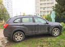 Подержанный Chevrolet Captiva, серый , цена 900 000 руб. в республике Татарстане, отличное состояние