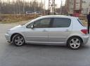 Подержанный Peugeot 307, серебряный металлик, цена 220 000 руб. в ао. Ханты-Мансийском Автономном округе - Югре, хорошее состояние