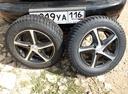 Подержанный ЗАЗ Chance, черный , цена 45 000 руб. в республике Татарстане, битый состояние