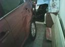 Подержанный Kia Sportage, оранжевый металлик, цена 450 000 руб. в ао. Ханты-Мансийском Автономном округе - Югре, битый состояние