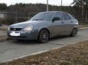 Подержанный ВАЗ (Lada) Priora, серый металлик, цена 260 000 руб. в Челябинской области, отличное состояние