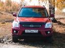 Подержанный Kia Sportage, бордовый , цена 700 000 руб. в Челябинской области, отличное состояние