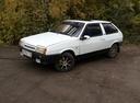 Подержанный ВАЗ (Lada) 2108, белый , цена 50 000 руб. в Челябинской области, хорошее состояние