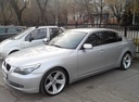 Подержанный BMW 5 серия, серебряный , цена 650 000 руб. в Челябинской области, хорошее состояние