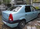 Подержанный Renault Logan, серый , цена 180 000 руб. в Челябинской области, хорошее состояние
