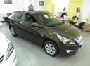 Подержанный Hyundai Solaris, коричневый, 2015 года выпуска, цена 567 000 руб. в Ростове-на-Дону, автосалон
