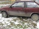 Подержанный ВАЗ (Lada) 2108, бордовый , цена 50 000 руб. в Челябинской области, хорошее состояние