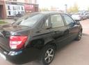 Подержанный ВАЗ (Lada) Granta, черный , цена 280 000 руб. в республике Татарстане, отличное состояние