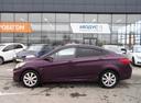 Подержанный Hyundai Solaris, фиолетовый, 2012 года выпуска, цена 430 000 руб. в Ростове-на-Дону, автосалон