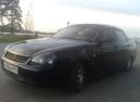 Подержанный ВАЗ (Lada) Priora, черный металлик, цена 165 000 руб. в Челябинской области, хорошее состояние