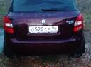 Подержанный Skoda Fabia, бордовый , цена 270 000 руб. в Челябинской области, хорошее состояние