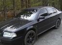 Подержанный Skoda Octavia, черный , цена 360 000 руб. в Челябинской области, хорошее состояние