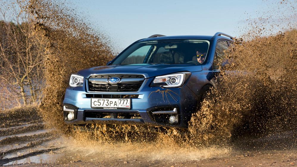Тест-драйв обновлённого Subaru Forester от Am.ru