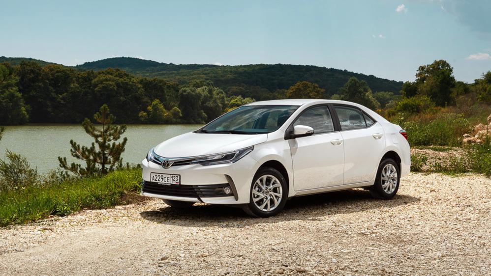 Тест-драйв Toyota Corolla 2017 модельного года.