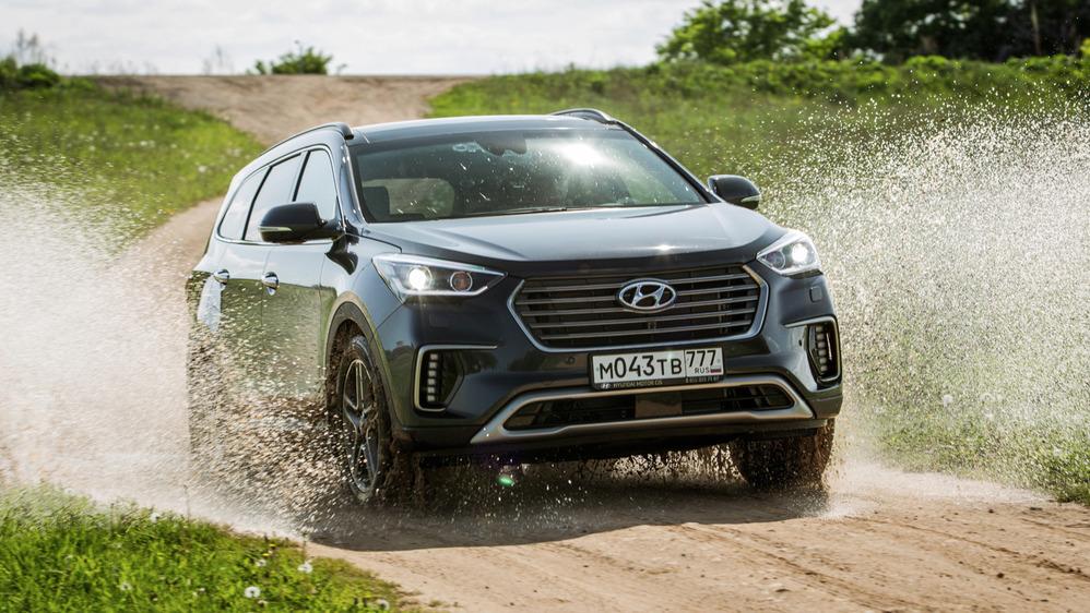 Тест-драйв обновлённого Hyundai Grand Santa Fe от Am.ru