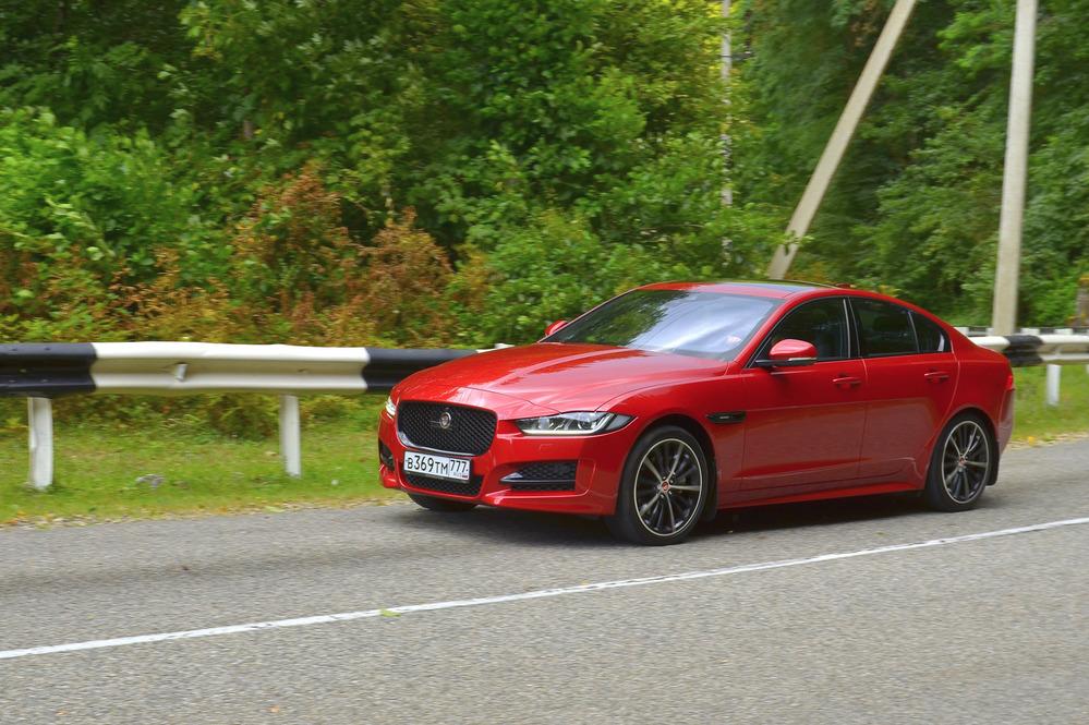 Тест-драйв Jaguar XE 2.0d AWD от Am.ru