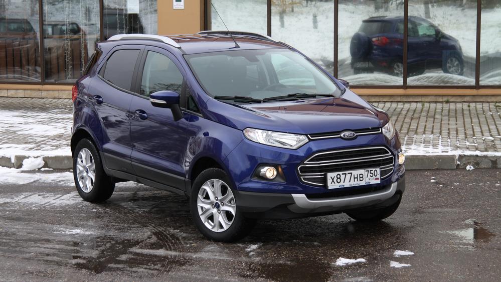 Тест-драйв Ford EcoSport от Am.ru