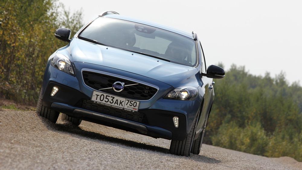 Тест-драйв Volvo V40 Сross Сountry