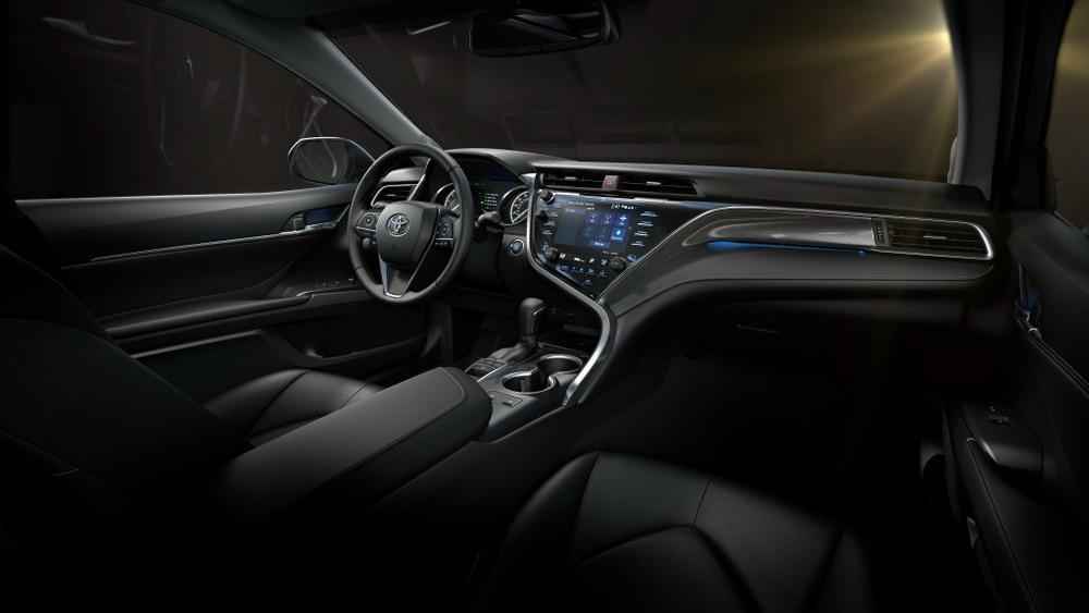 Фотогалерея новой Toyota Camry для рынка США.
