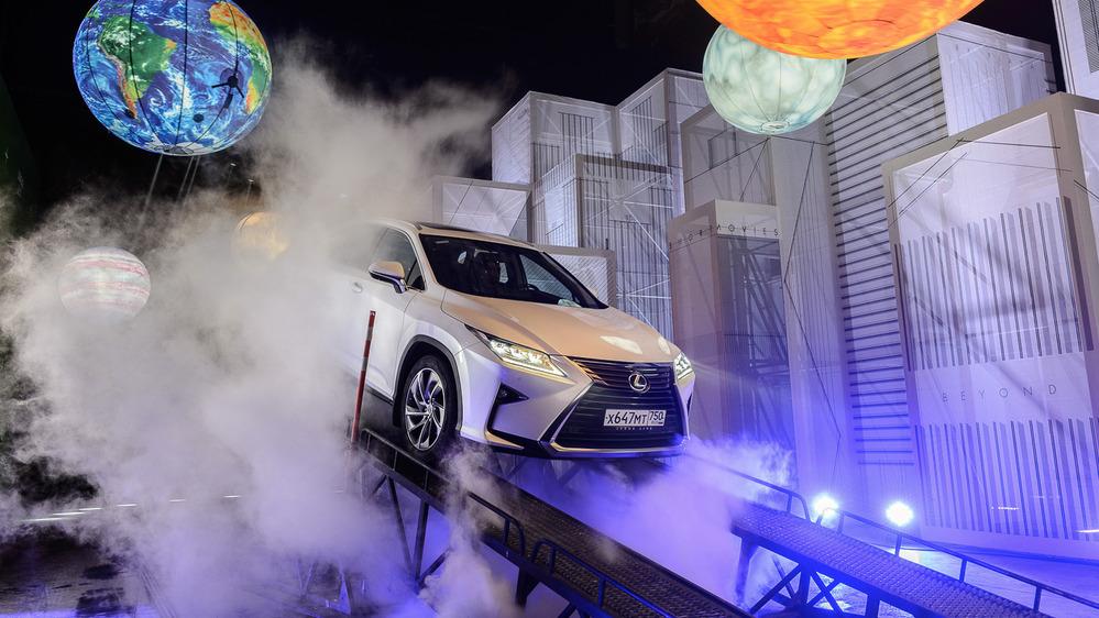 Тест-драйв внедорожной линейки Lexus от Am.ru