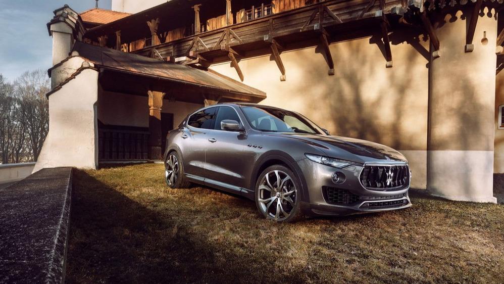 Официальные фотографии Maserati Levante с тюнингов Novitec Rosso – смотреть фото на Am.ru