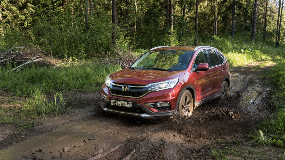 Тест-драйв нового кроссовера Honda CR-V