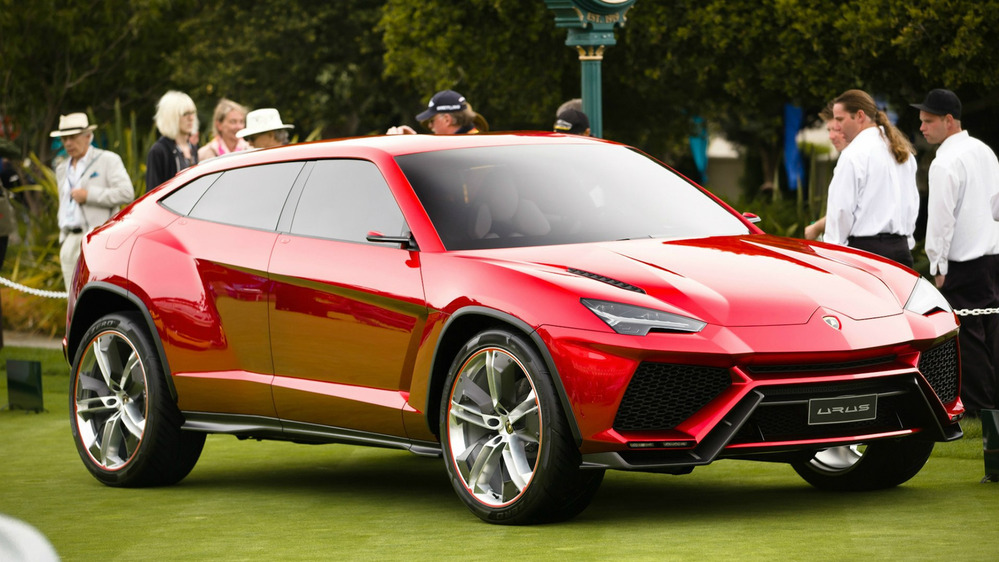 Кроссовер Lamborghini получит гибридную