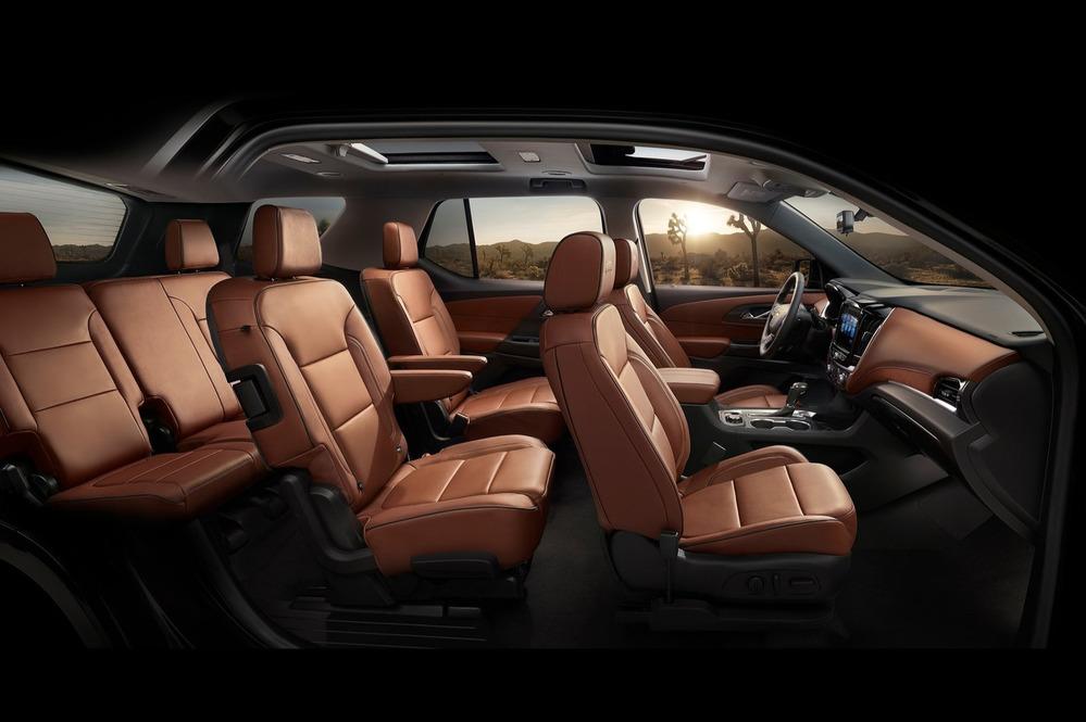 Кроссовер Chevrolet Traverse нового поколения дебютировал в Детройте.Новости Am.ru