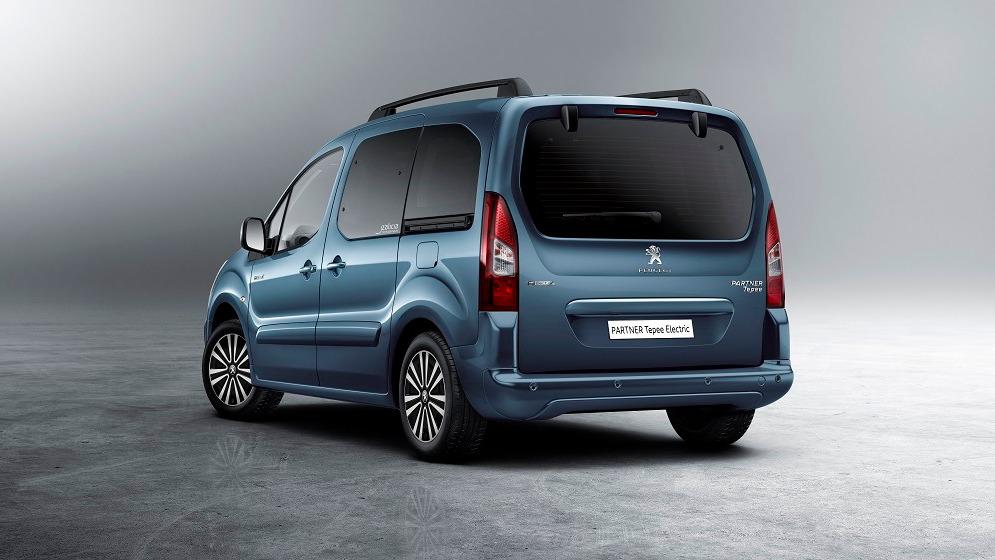 Peugeot Partner Tepee Electric пошёл по стопам Partner Electric.