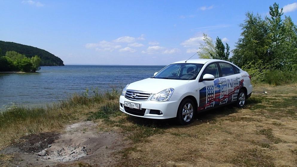 Путешествие в Самару на Nissan Almera