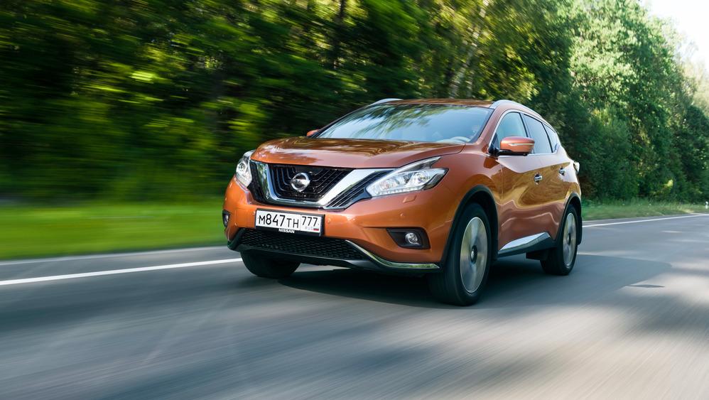 Первый тест нового Nissan Murano - читать и смотреть фото на Am.ru