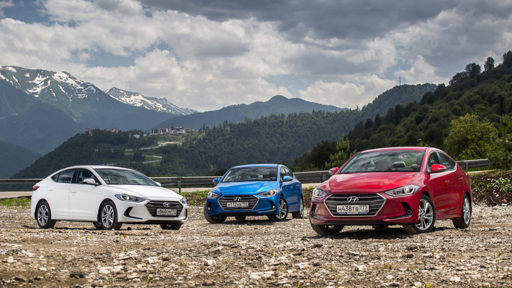 Тест-драйв Hyundai Elantra нового поколения от Am.ru