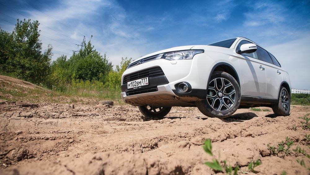 Тест-драйв кроссовера Mitsubishi Outlander: превращаем сон в явь - Журнал am.ru