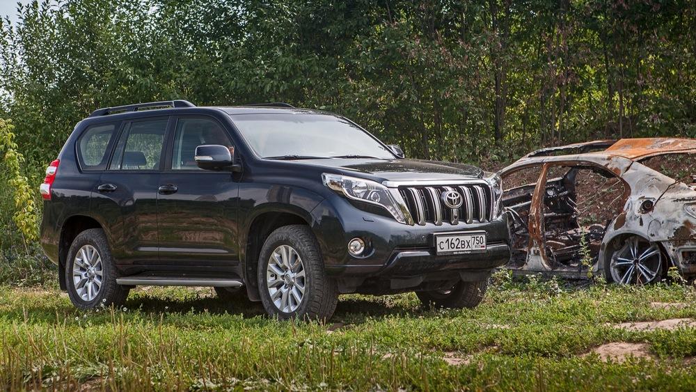 Тест-драйв Toyota Land Cruiser Prado: правильное применение - Журнал am.ru