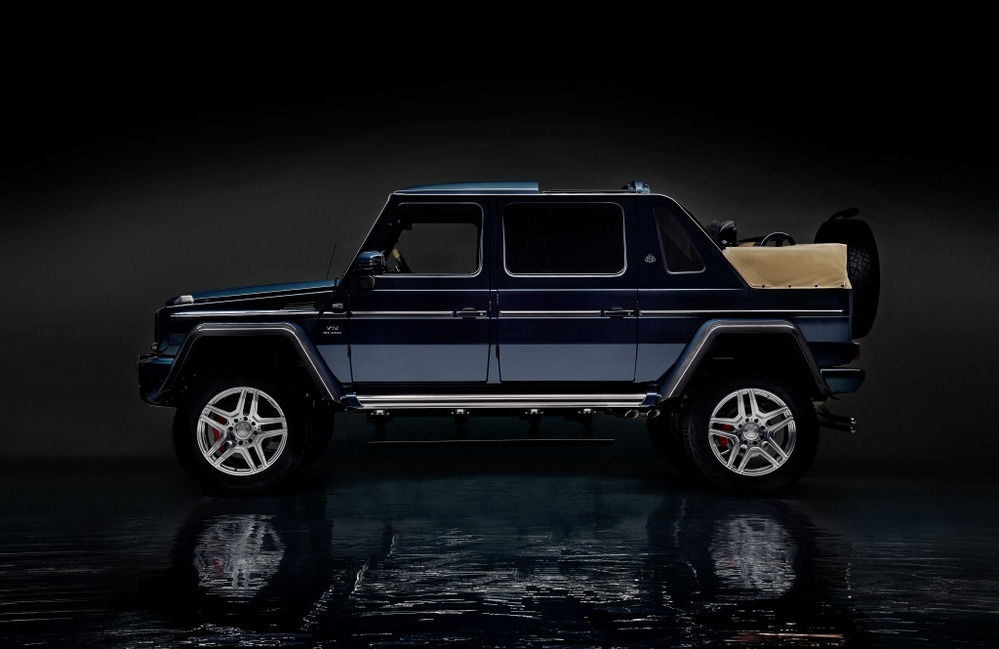 Фотогалерея Mercedes-Benz G650 Maybach Landaulet.