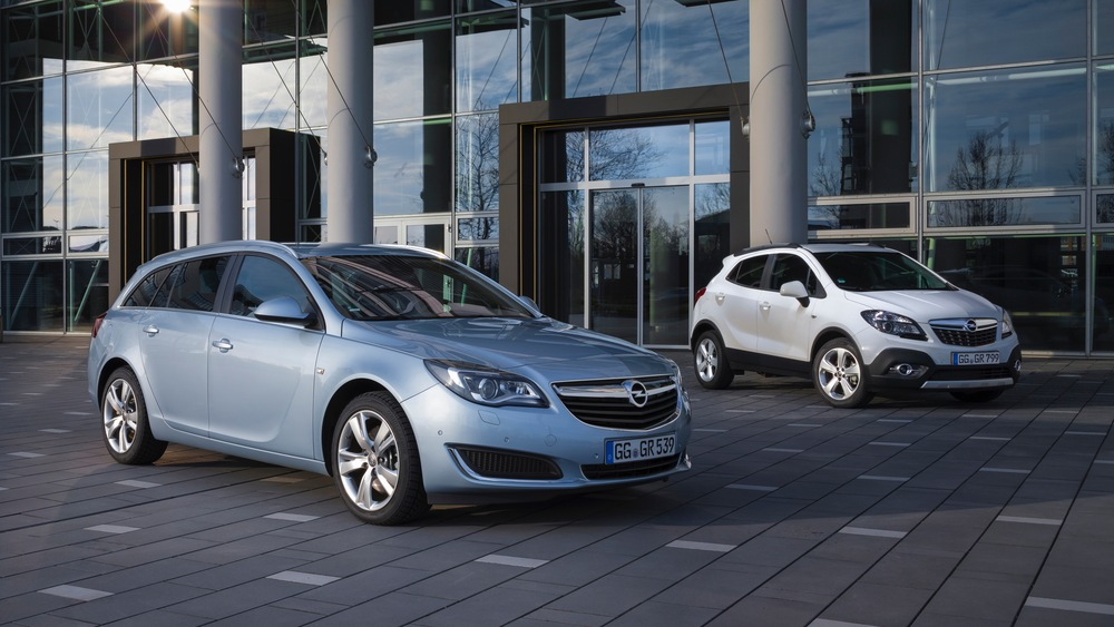 Тест-драйв Opel Insignia и Mokka в Ирландии