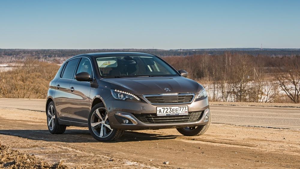 Тест-драйв Peugeot 308